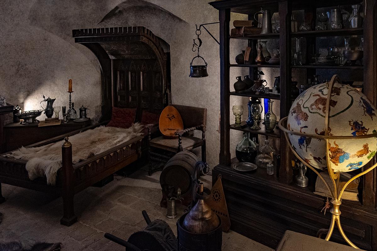 La casa dell'alchimista nel Vicolo d'Oro di Praga