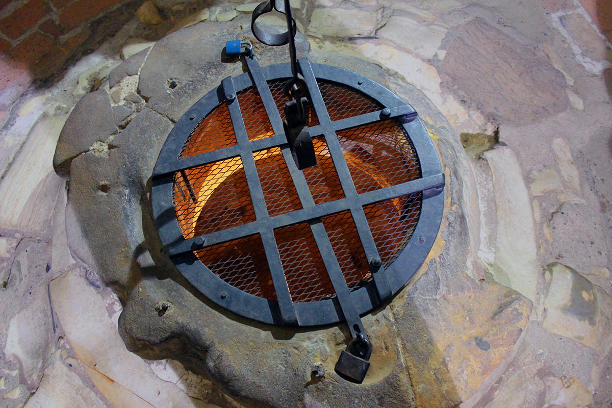 La torre di Dalibor con la botola