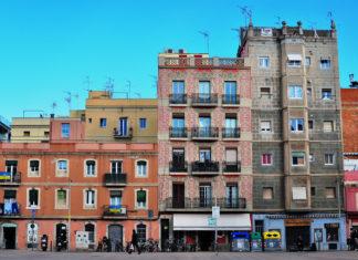 Il quartiere della Barceloneta a Barcellona