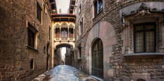 Il Barrio Gotico di Barcellona