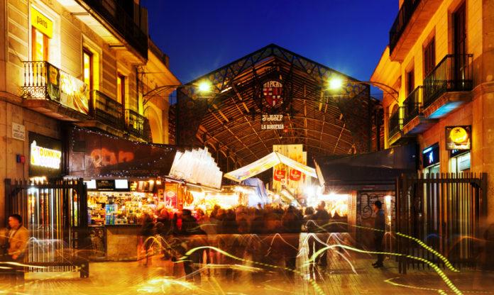 Il Mercato della Boqueria a Barcellona