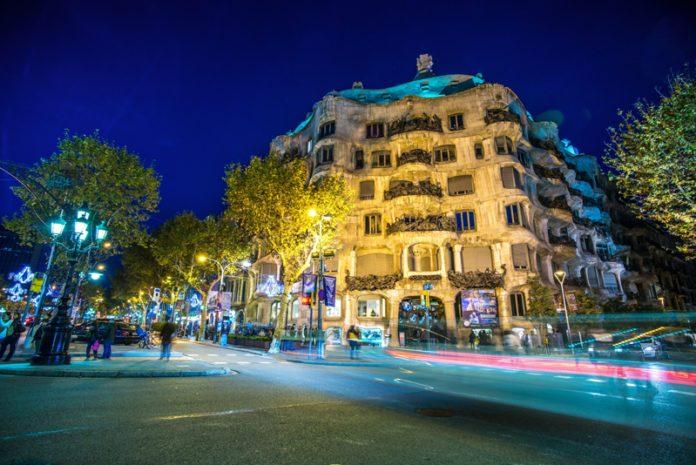 Casa Mila La Pedrera a Barcellona