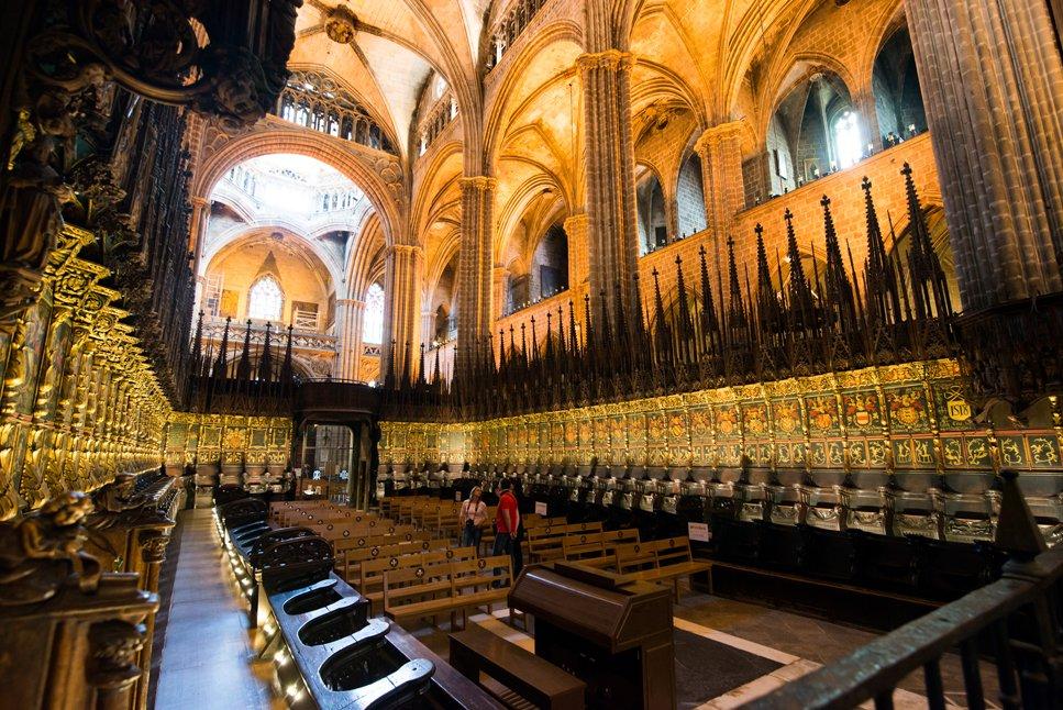 Il Coro della Cattedrale di Barcellona