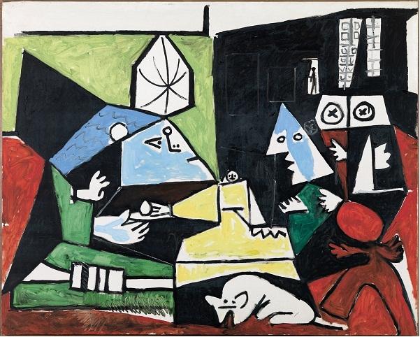 Las Meninas di Picasso