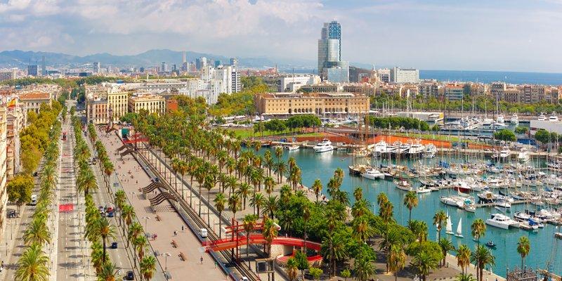 Il Porto Vecchio e la Barceloneta