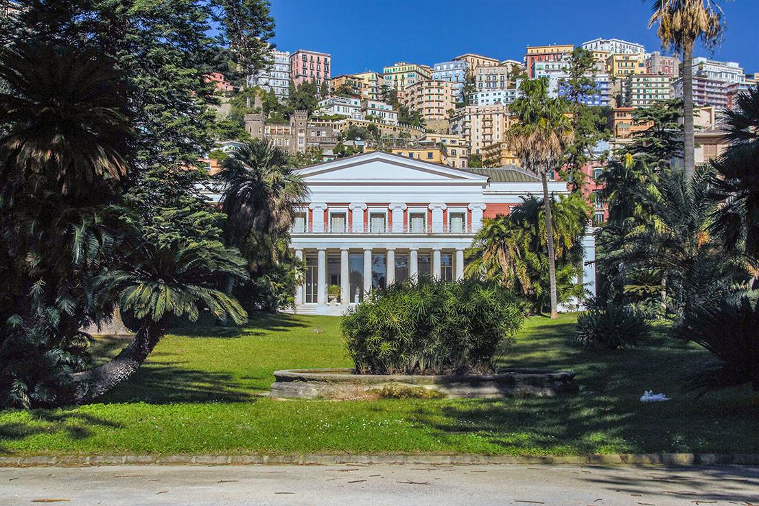 Villa e Museo Pignatelli a Napoli
