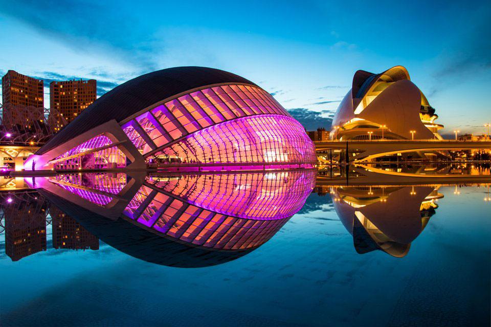 L'Hemisferic di Città della Scienza a Valencia