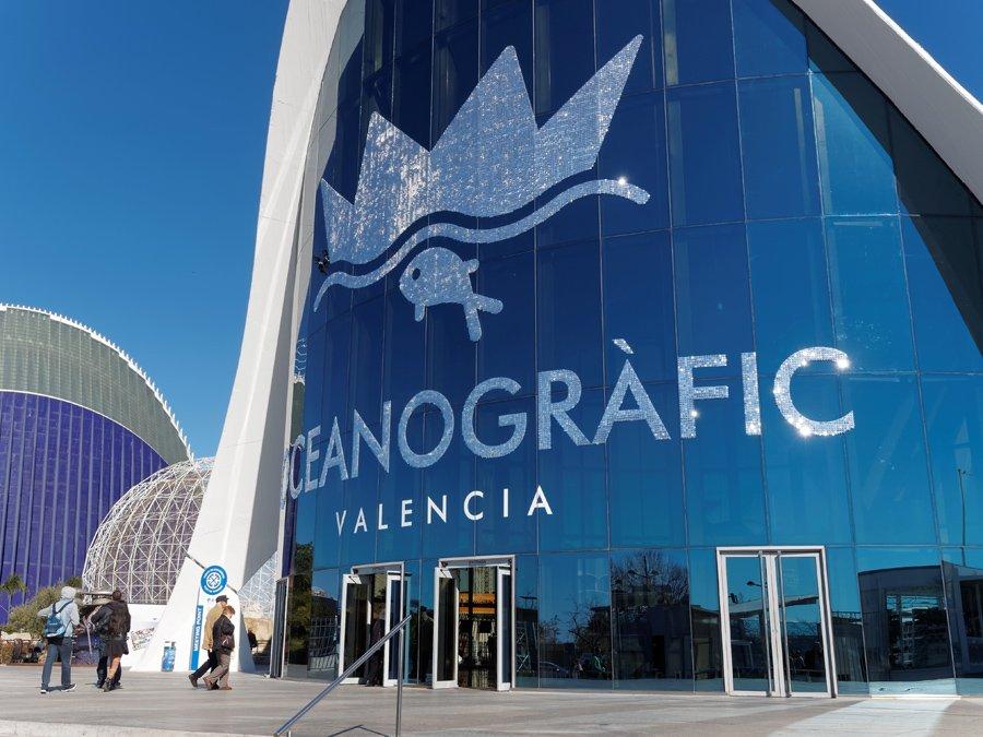L'Oceanografic di Valencia