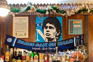 Altarino di Maradona a Spaccanapoli