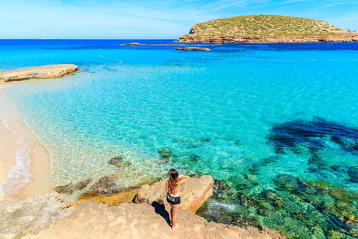 Cala Comte a Ibiza