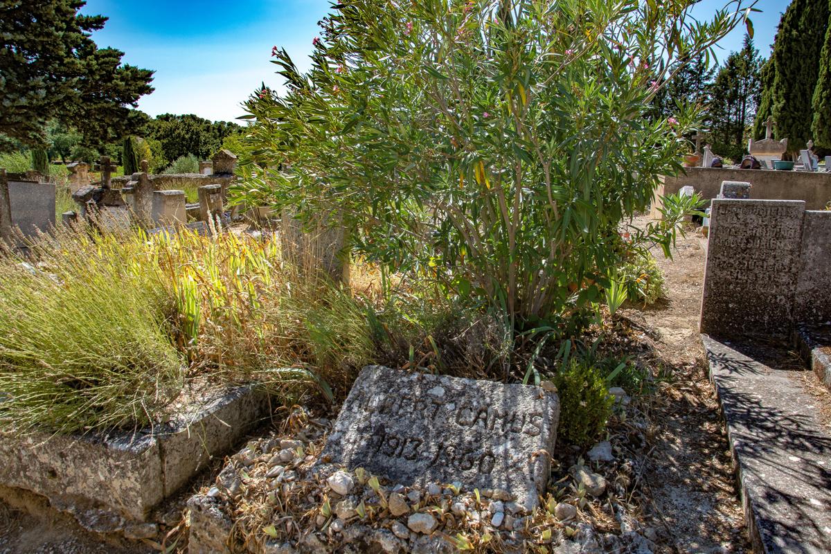 La tomba di Camus a Lourmarin