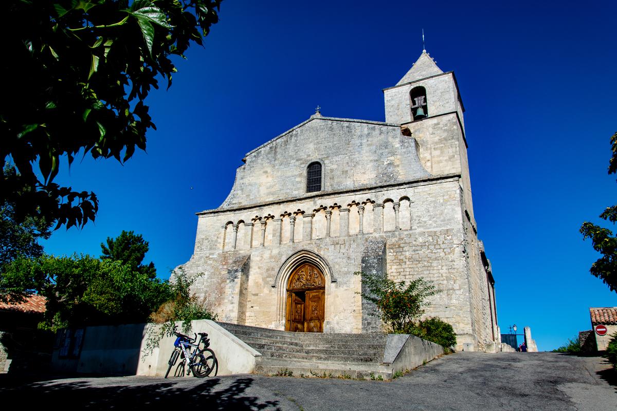 La chiesa di Notre Dame a Saignon