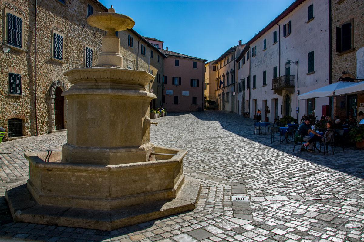 Il centro storico di San Leo