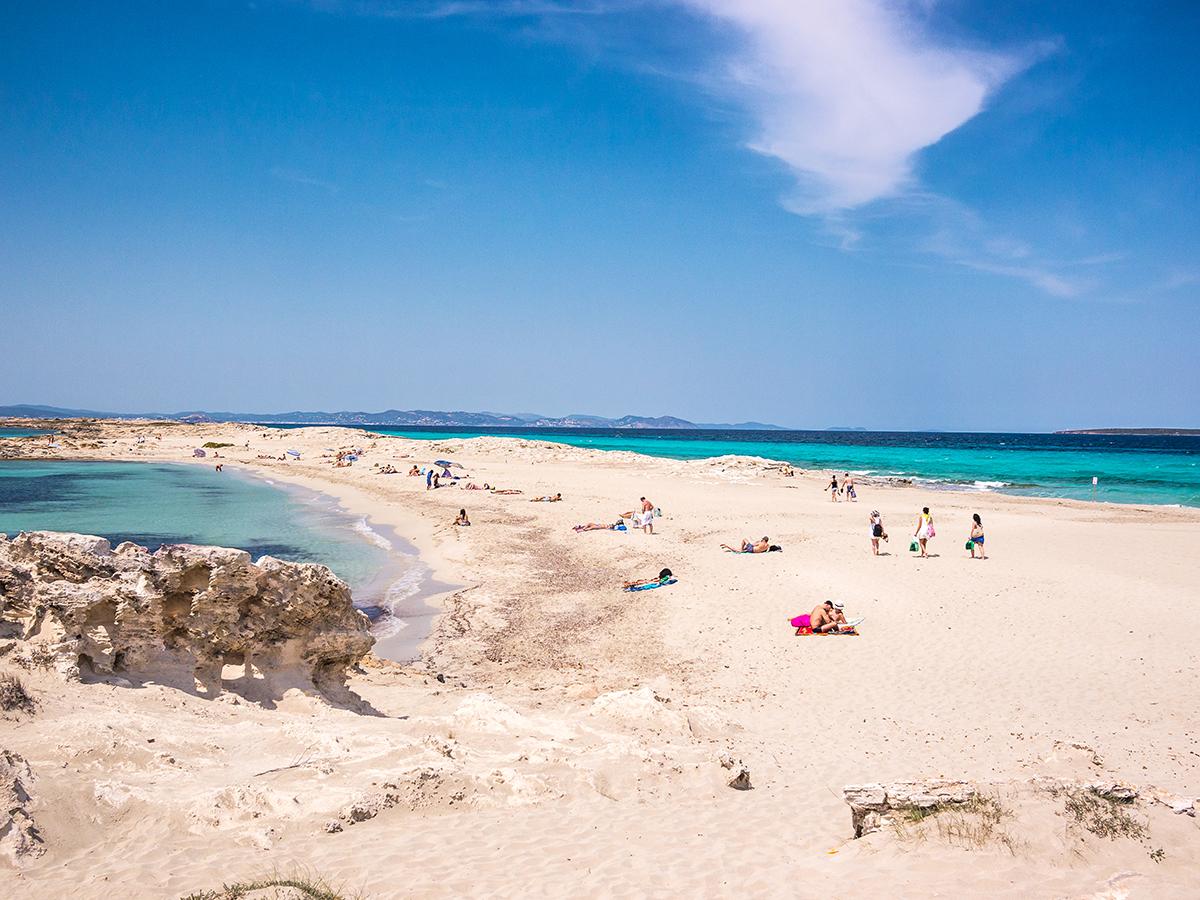 Ses Illetes a Formentera