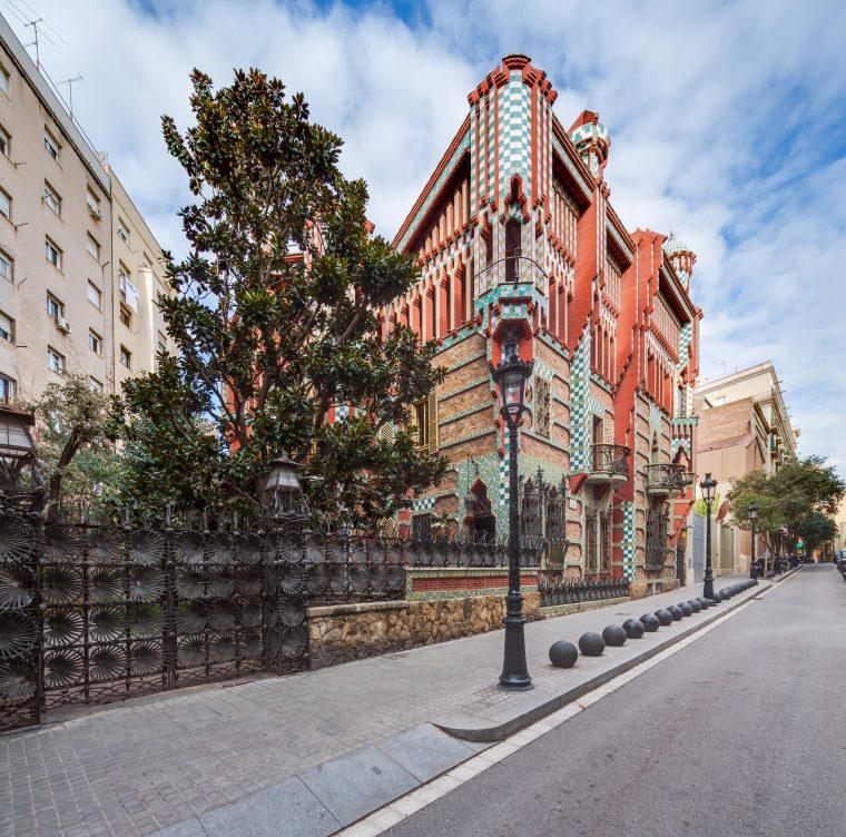 Casa Vicens a Barcellona