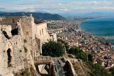 Il Castello di Arechi a Salerno