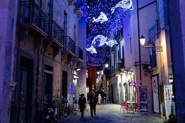 Via dei Mercanti a Salerno