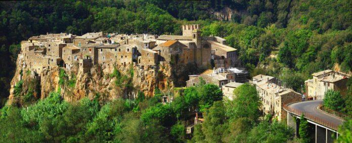 Panorama del Borgo di Calcata