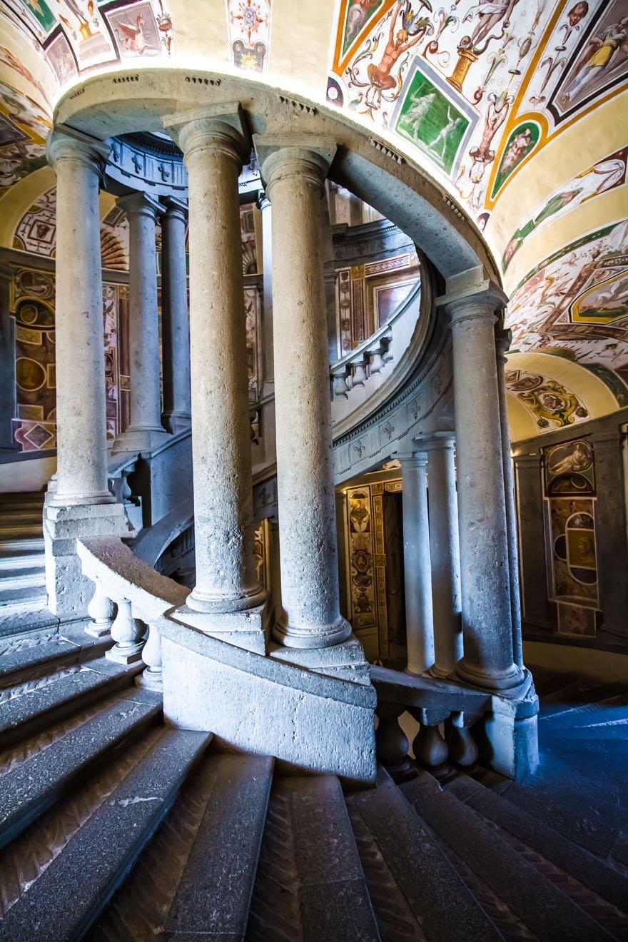 La Scala Regia di Palazzo Farnese