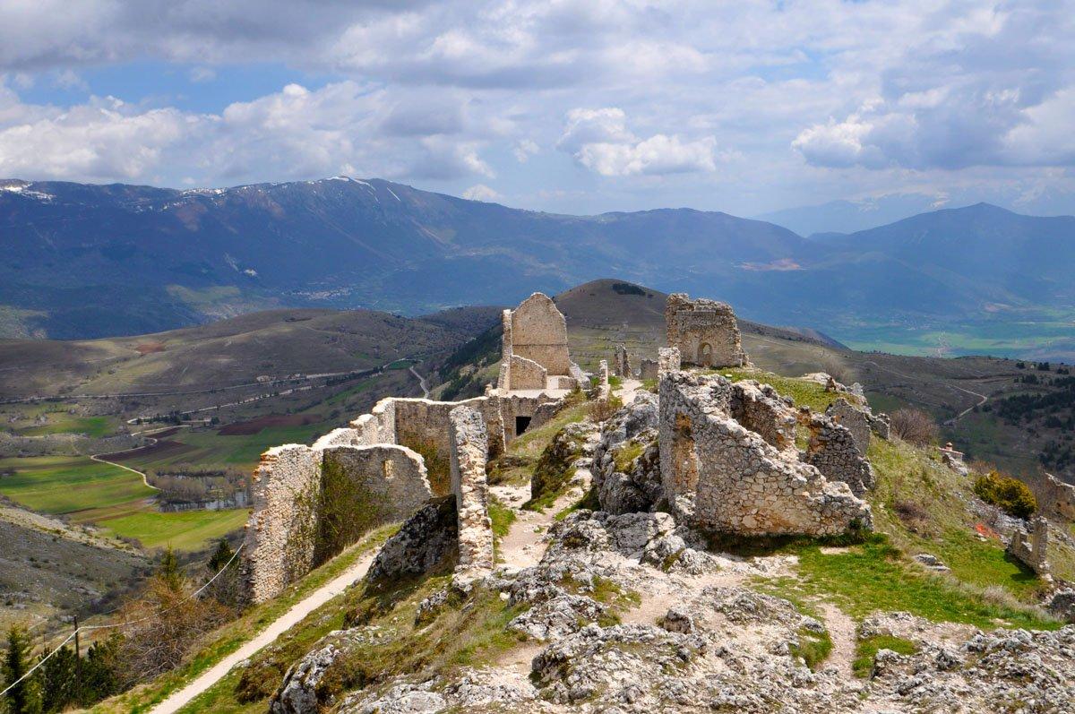 Il borgo abbandonato di Rocca Calascio