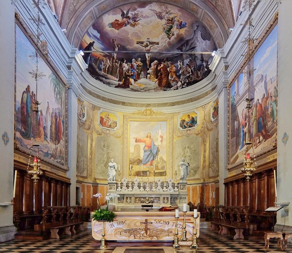 L'interno del Duomo di Palmanova