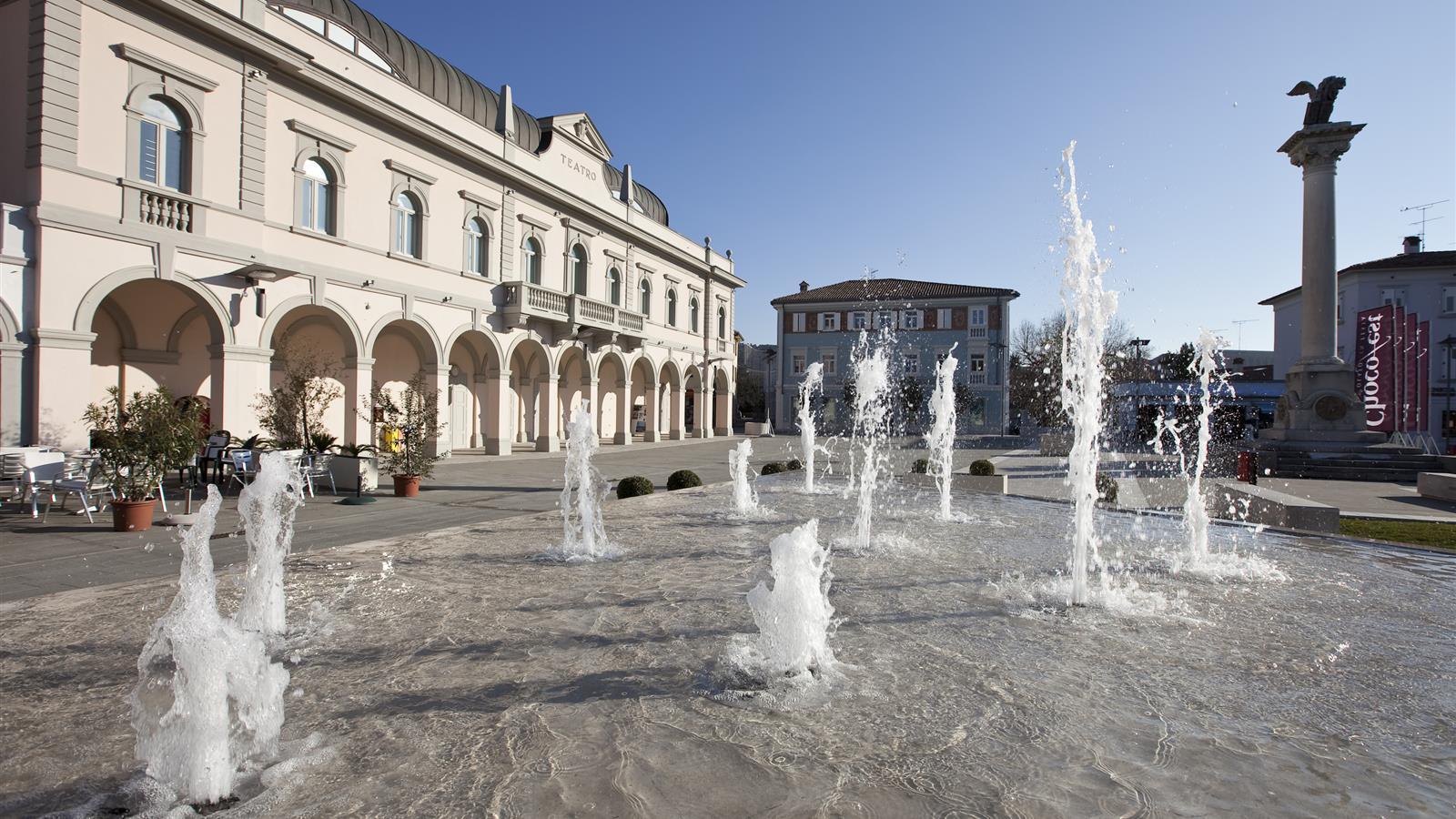 La Piazza di Gradisca d'Isonzo