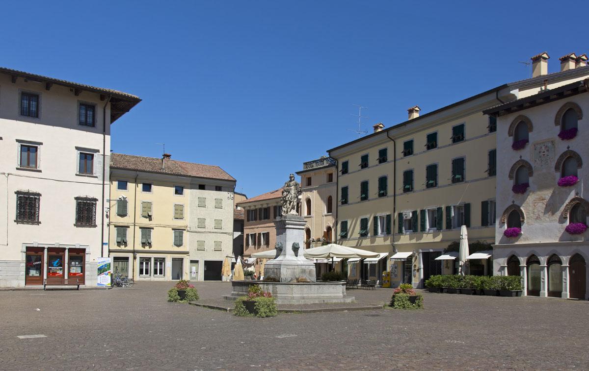 La piazza di Cividale