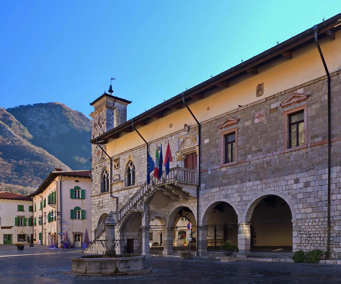 Il Municipio di Venzone