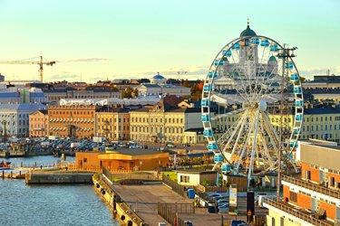 Piazza del Mercato a Helsinki