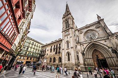 La Cattedrale di Santiago a Bilbao