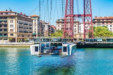 Il Ponte di Vizcaya a Bilbao