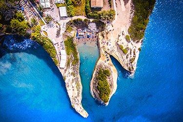 Sidari, il canale dell'amore a Corfù