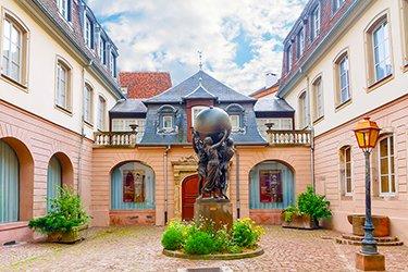 La Statua della libertà e il Museo Bartholdi a Colmar