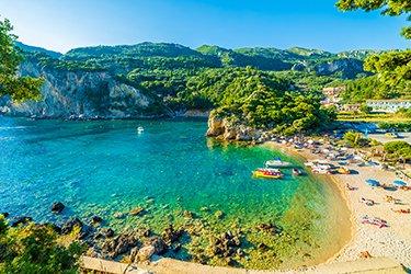 Paleokastritsa a Corfu