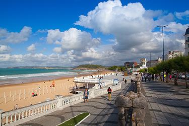 La Playa El Sardinero a Santander