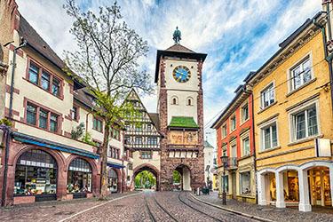 Schwabentor una delle porte della città di Friburgo