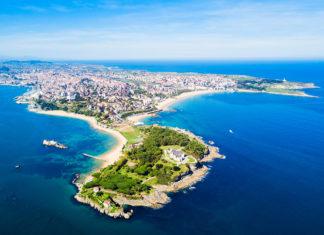 Vista panoramica di Santander