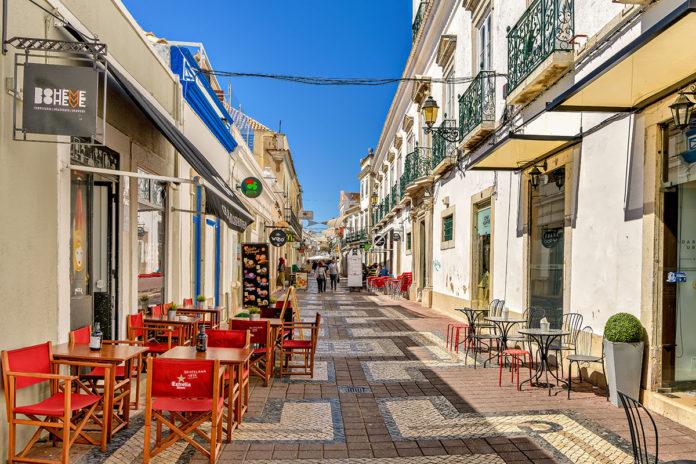 Centro storico di Faro, Portogallo