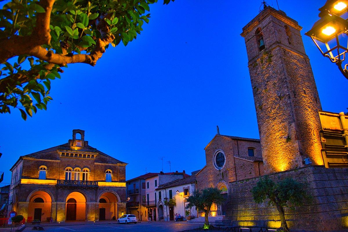 Il borgo di Rocca San Giovanni