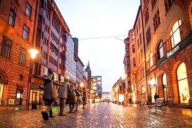 Gamla Staden, il centro storico di Malmö