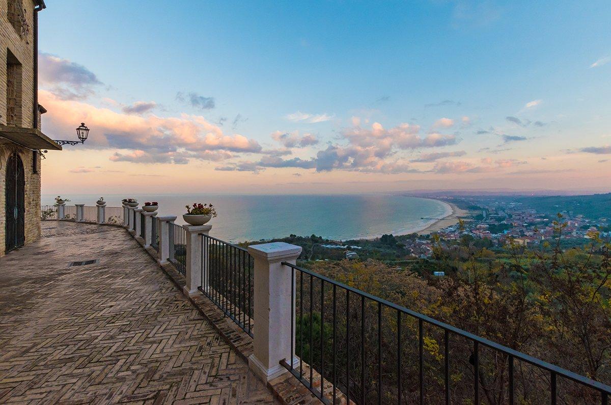 Il panorama dal Giardino Napoletano