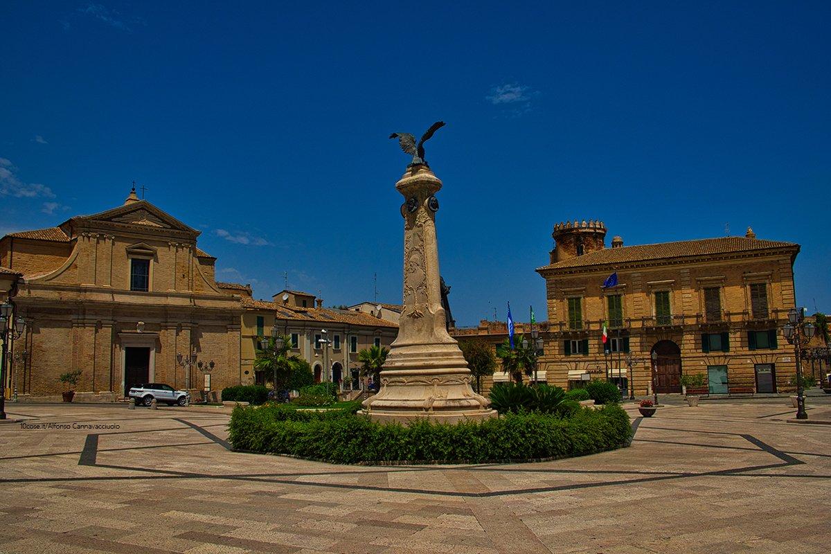 Piazza Rossetti a Vasto