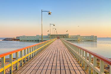 Ribersborg, la spiaggia di Malmö