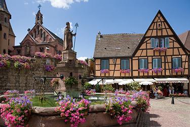 Eguisheim in Alsazia