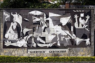 Guernica nei Paesi Baschi