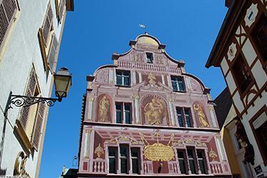 La facciata del Municipio di Mulhouse
