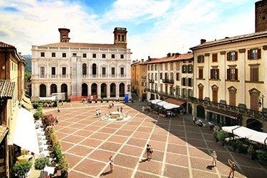 Piazza Vecchia a Bergamo