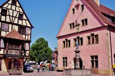 Turckheim in Alsazia
