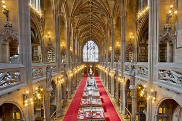 John Rylands Library a Manchester
