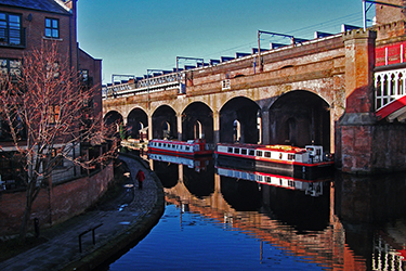 Castlefield a Manchester